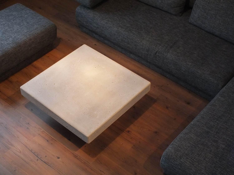 beton couchtisch | einzigartige & moderne designermöbel - Beton Wohnzimmertisch