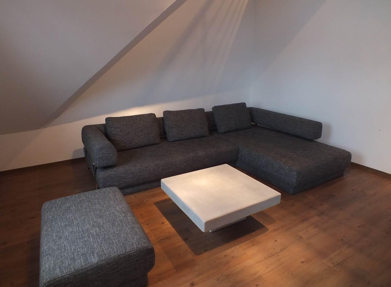 Betontisch Wohnzimmer  Jtleighcom  Hausgestaltung Ideen