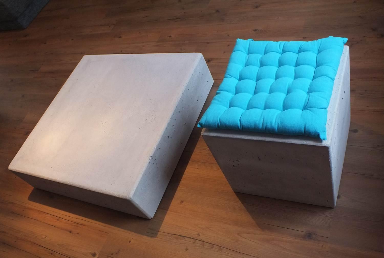 Couchtisch Beton  zeitlose & moderne Möbel aus Beton